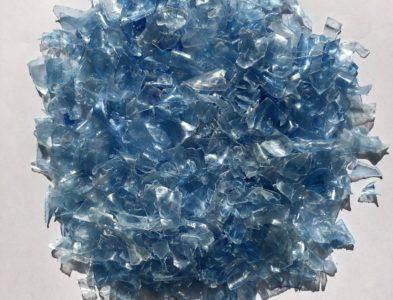 Blue flakes