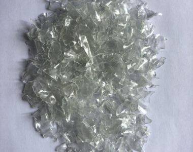 Transparent flakes